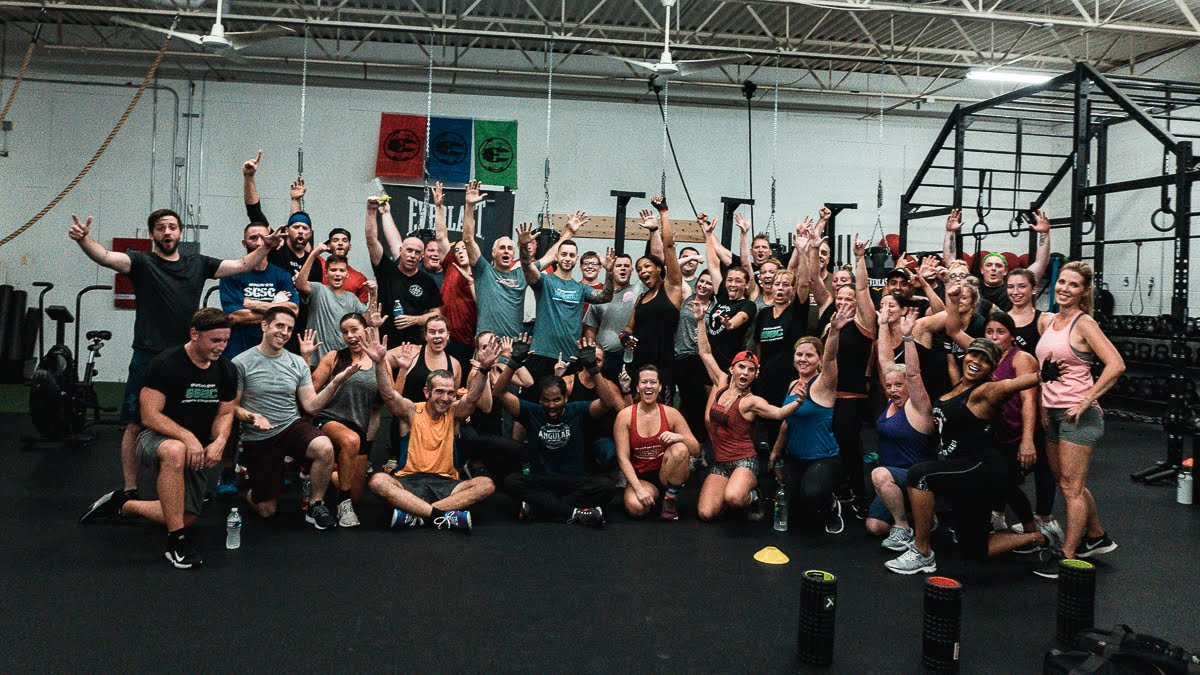 Spartan Gym members are PUMPED up after group classes